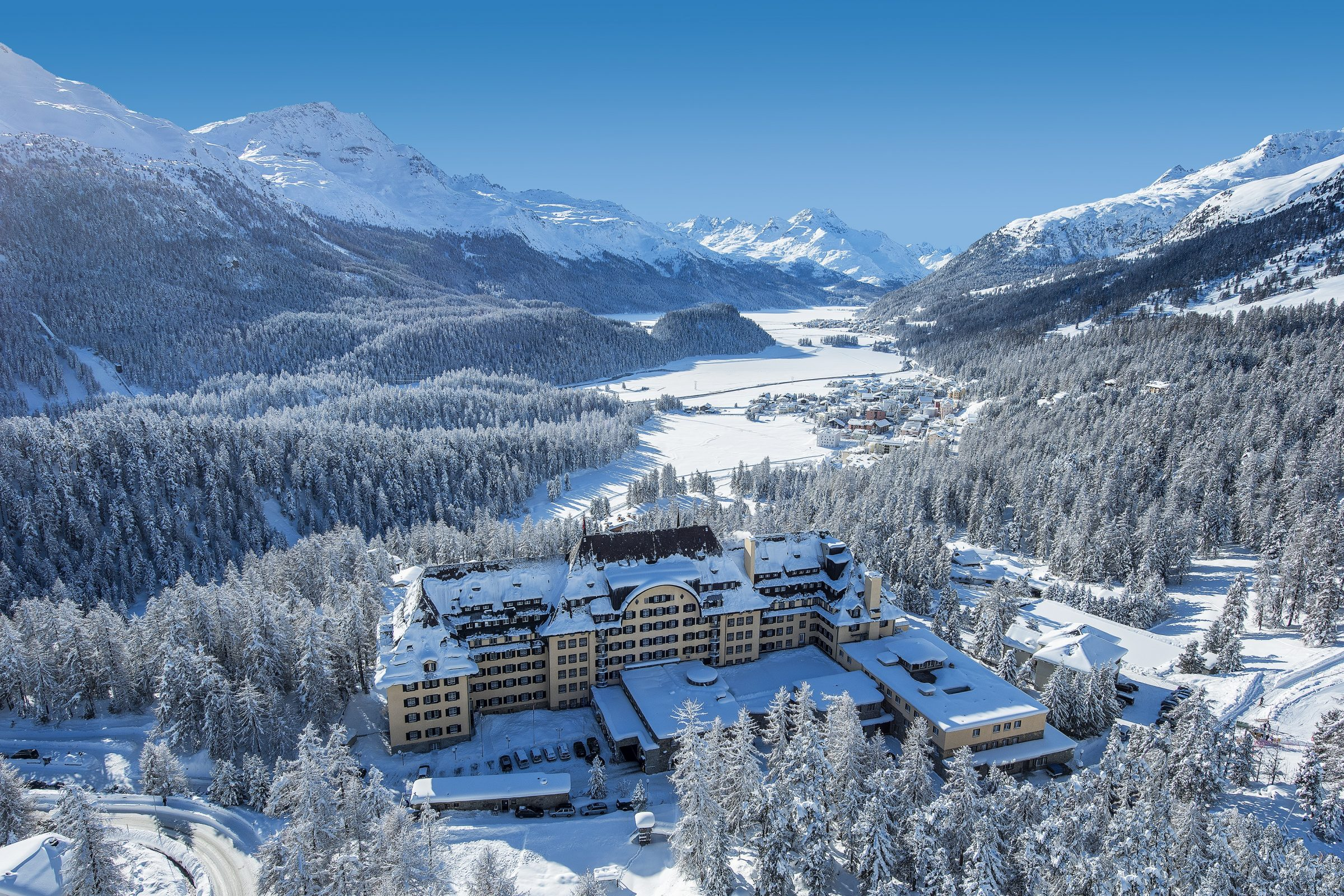 St Moritz Hotel  Sterne