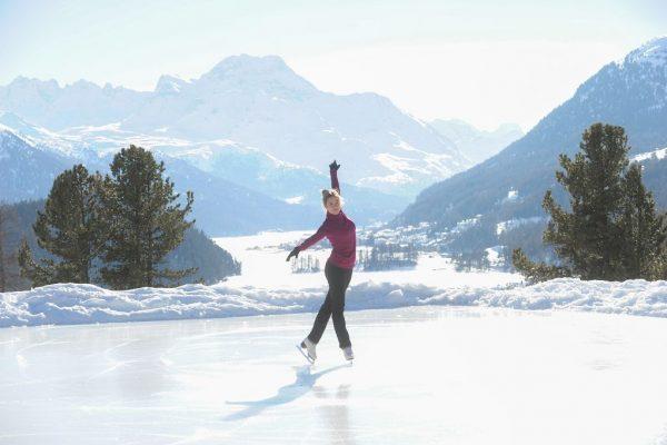 Eislaufen St. Moritz