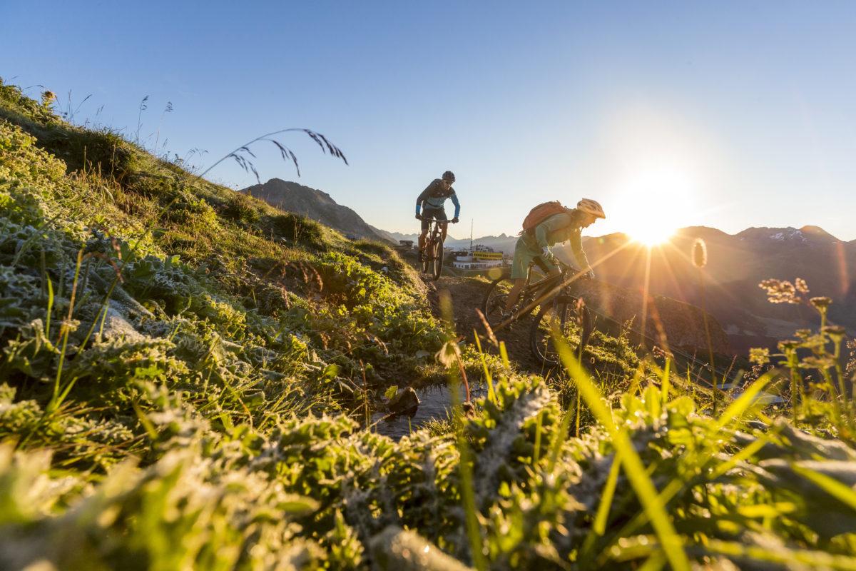 Bike Sonnenaufgang_swiss-image.chMarkus Greber